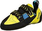 Scarpa Vapor V, Zapatillas de Escalada Hombre, Ocean-Yellow FR, 45 EU